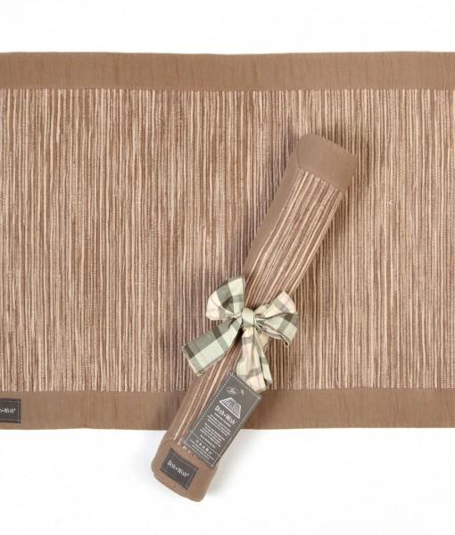 Natural kitchen rug